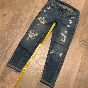 Hollister slim vintage boyfriend crop jeans 23 00